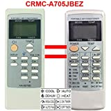Replacement for Sharp Air Conditioner Remote Control Model Number: CRMC-A805JBEZ CRMC-A663JBEZ Works for CV-P09FL CV-P09FX CV-P09LX CV-P10MX CV-P12LX XV-4181 CVP12PX CVPD13PX CV2P10SC CV2P10SC
