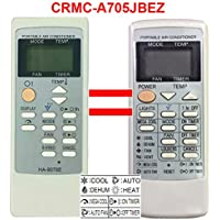 Replacement for Sharp Air Conditioner Remote Control Model Number: CRMC-A805JBEZ CRMC-A663JBEZ Works for CV-P09FL CV-P09FX CV-P09LX CV-P10MX CV-P12LX XV-4181 CVP12PX CVPD13PX CV2P10SC CV2P10SC