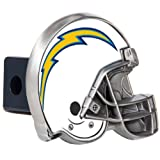 Great American Products NFL Los Angeles Chargers Helmet Trailer Hitch Cover