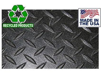 Diamond Plate Industrial Rubber Flooring Rolls - 4u0027 x 50u0027 x 1/8u0026quot  sc 1 st  Amazon.com & Amazon.com : Diamond Plate Industrial Rubber Flooring Rolls - 4u0027 x ...