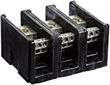 Power Distribution and Terminal Block, Connector Blok - Single Primary - Multiple Secondary, 500MCM-4 AWG Line and 4-14 AWG Load Side Configuration, 1.71'' Width, 2.62'' Height, 4.00'' Length