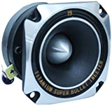 Mr. Dj HDT700S 3.5-Inch Titanium Bullet High Compression Tweeter with 10 Ounce Ferrite Magnet (Chrome)