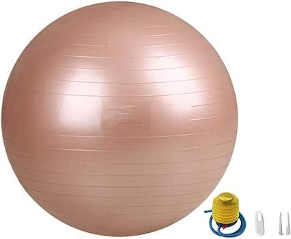 Zzkjniu Bola De Yoga Para Principiantes Engrosamiento Interior Fitness Perdida De Peso Pilates Bola Ejercicio Para El Ejercicio Mujeres Embarazadas Entrega De Balon 75cm Brown Amazon Es Deportes Y Aire Libre