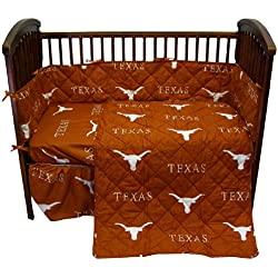College Covers Texas Longhorns 5 piece Baby Crib Set