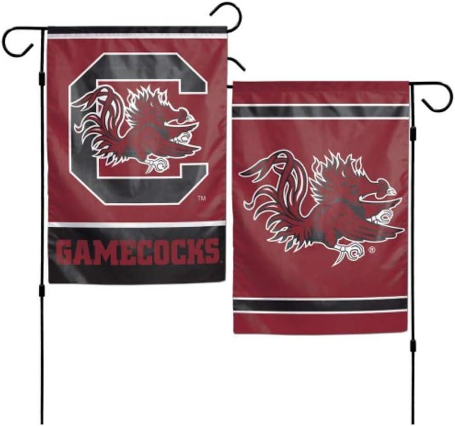 WinCraft NCAA University of South Carolina Gamecocks 12x18 Inch 2-Sided Outdoor Garden Flag