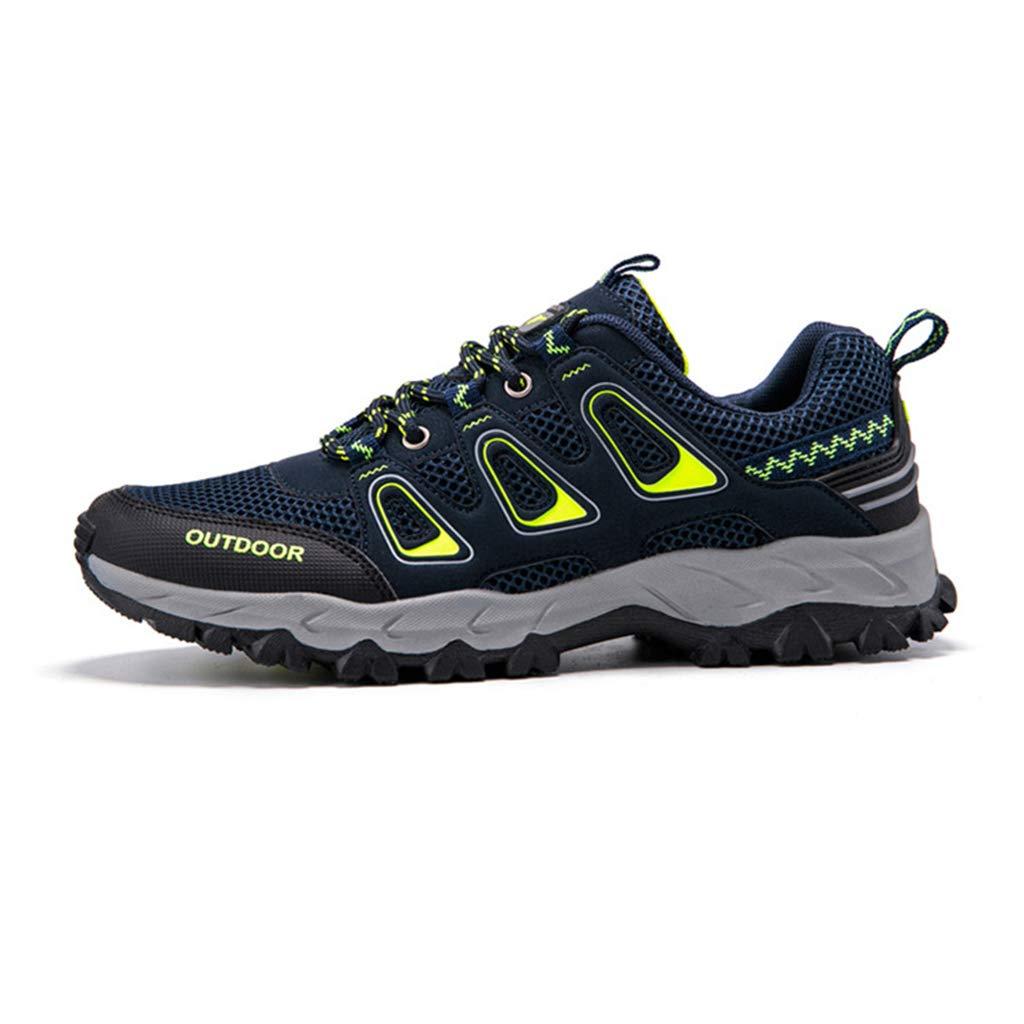 bleu Henxizucun Chaussures de Trekking pour Hommes Sports de Plein air Marche Chaussures de randonnée légères et Basses Trail FonctionneHommest Camping Alpinisme EntraîneHommest Sport paniers