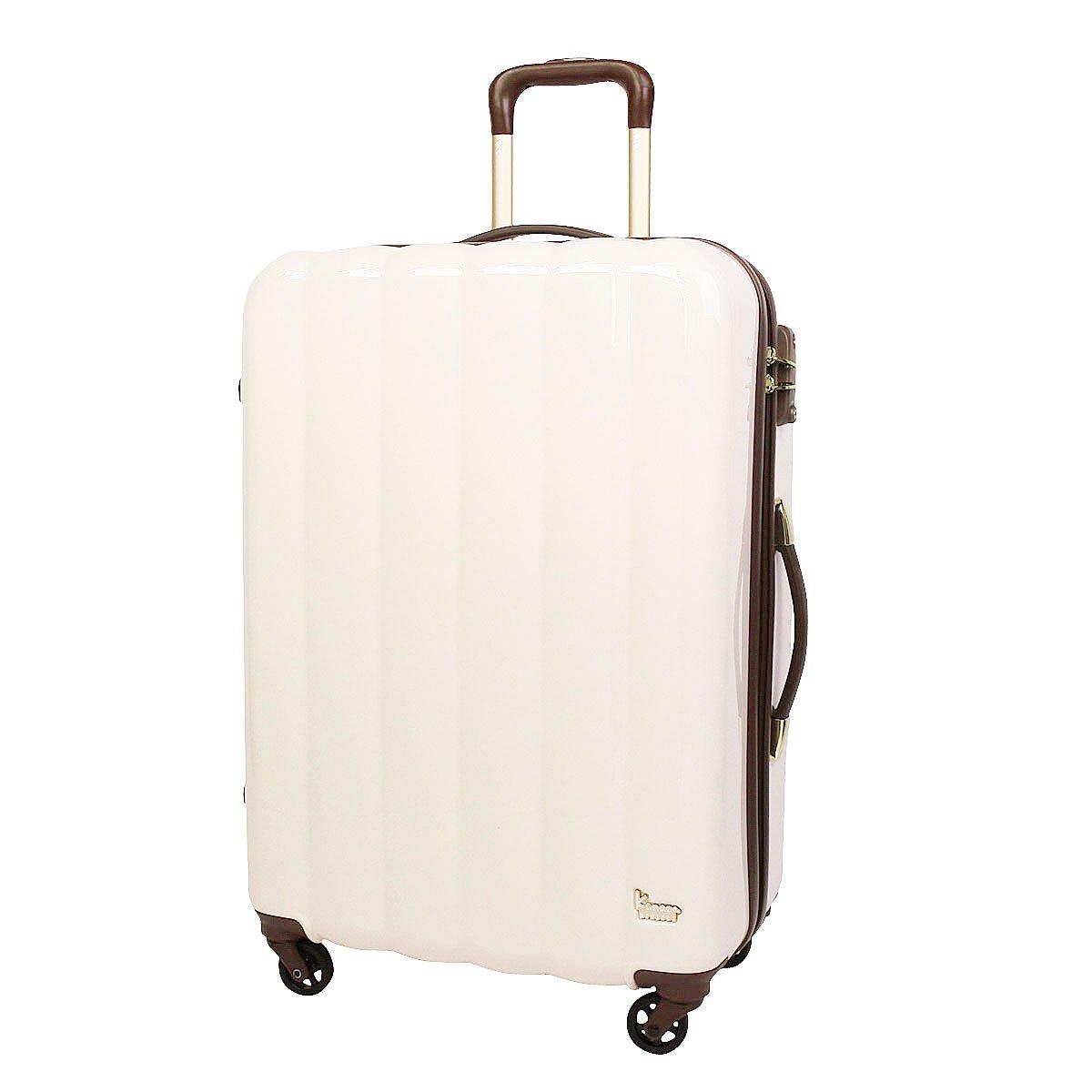 [カナナプロジェクトコレクション] スーツケース ステイ 66L 60cm 4.2kg 05616 B01C2H73CQ オフホワイト(06) オフホワイト(06)