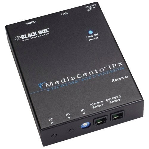 BLACK BOX CORPORATION VX-HDMI-POE-MRX / MediaCento IPX PoE Multicast Receiver / HDMI video over an IP network