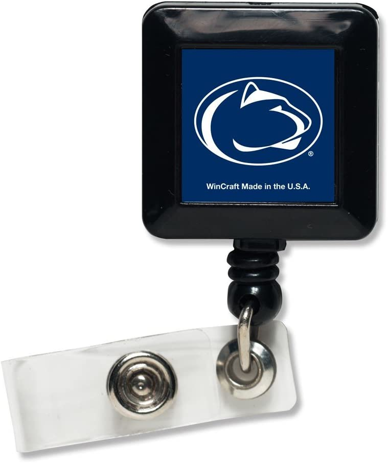 WinCraft NCAA Penn State University 26056011 Retractable Badge Holder