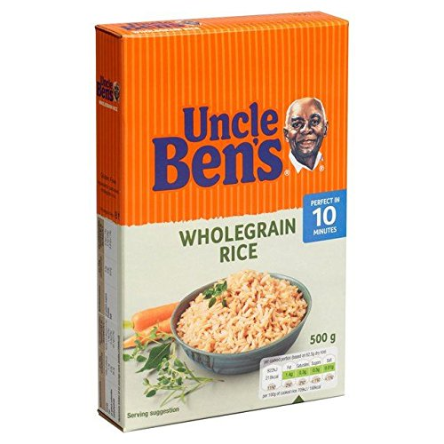 (Uncle Bens Wholegrain Rice - 500g (1.1lbs))