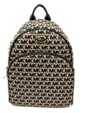 Michael Kors Signature Women's Abbey Larg Backpack BG/BLK/BLK 38H7YAYB7J