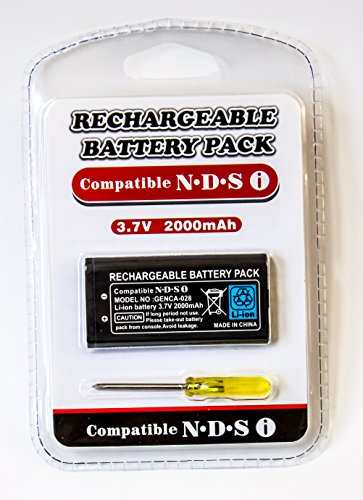 Old Skool Rechargeable 3.7V Li-Ion Battery Pack for Nintendo DSi