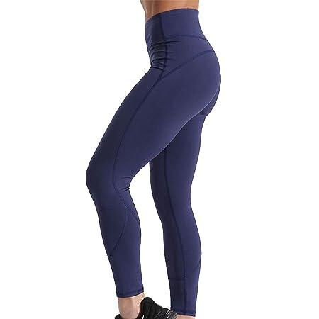 Leggins Desportivos Yoga, Cintura alta de las mujeres ...