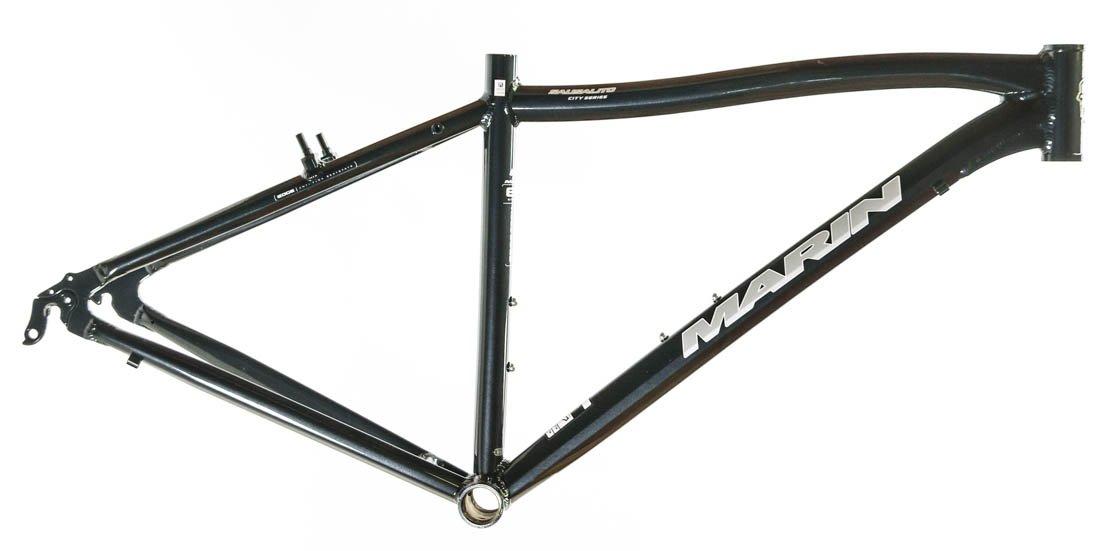 15'' MARIN SAUSALITO Road Commuter Bike Frame Alloy Black 700c E3 Tubing NOS NEW
