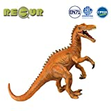 "RECUR 10"" Baryonyx Jurassic Toys,Soft Hand-Painted Dinosaur Toy Figurine Model- Realistic 1:30 Jurassic Dinosaur Action Figures with Teeth,Ideal for Collectors, Ages 3 and Up"
