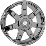 22 rims escalade - 22 Inch Cadillac Escalade Chrome Replica Wheels Rims