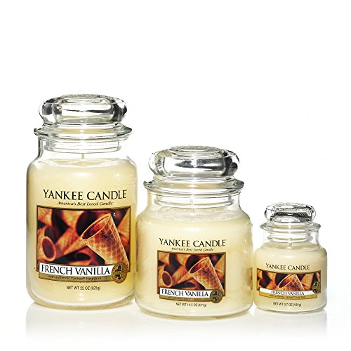 Yankee Candle Large Jar Candle, French Vanilla