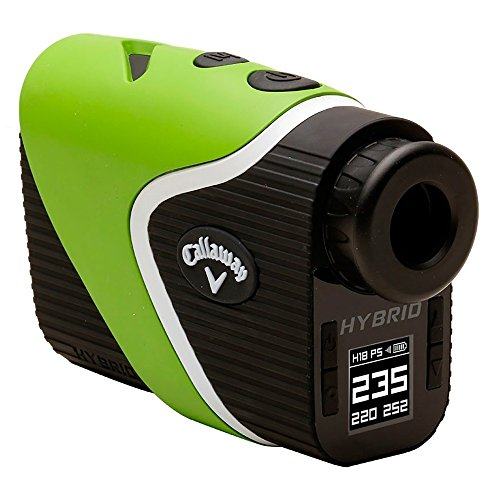 NEW Callaway Hybrid Laser GPS Rangefinder Power Pack w/ Chrome Soft Balls Green by Callaway