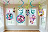 Amscan Disney Minnie Mouse Hanging Swirl Value Pack, Health Care Stuffs