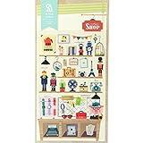 10 Sheets/Lot Diy Kawaii Cartoon 3D Pvc Cartoleria Jr Stickers For Diary Decoration Children Kids Toy^.