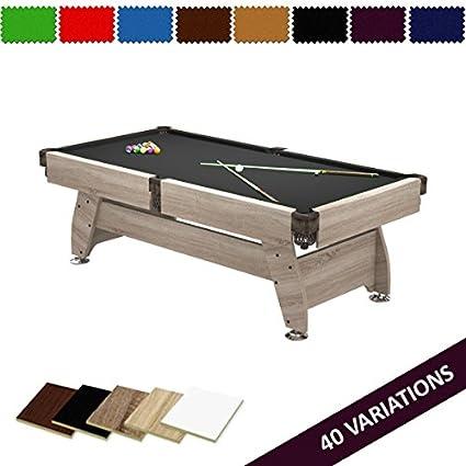 Radley mesa de billar 6 ft Vintage + opciones para personalizar + Gratis Accesorios: Amazon.es: Deportes y aire libre