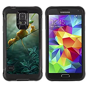 ZAKO Cases / Samsung Galaxy S5 SM-G900 / Mouse Family / Robusto Prueba de choques Caso Billetera cubierta Shell Armor Funda Case Cover Slim Armor