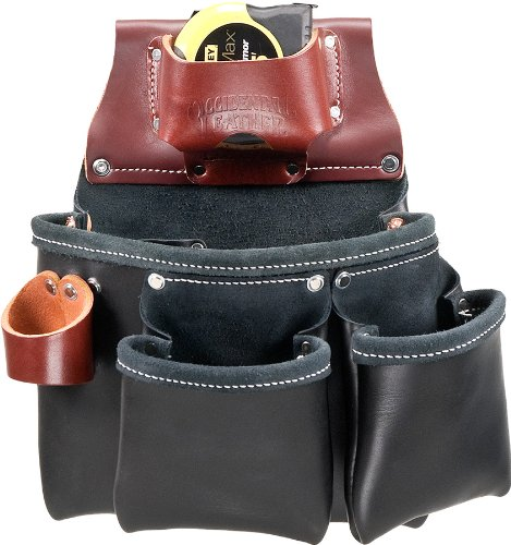 Occidental Leather B5018DBLH 3 Pouch Pro Tool Bag - Black ()