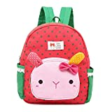 Kids Toddler Backpack Baby Boys Girls Pre School Bags Cute Cartoon Rabbit Backpacks for Children 1-5 Years Old