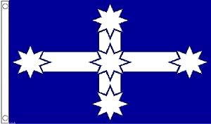 1000 Flags Limited Australia Eureka Stockade Battle Flag 5'x3' (150cm x 90cm) - Woven Polyester