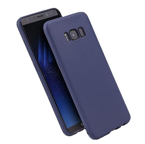 vanki Samsung Galaxy S8 Plus Custodia Cover Soft TPU Silicone Anti Scivolo Case Posteriore della Copertura della Protezione Anti-Urto per Galaxy S8