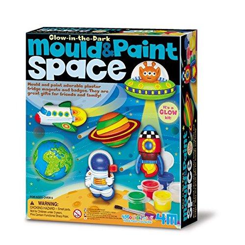 4M - 68535 - Jeu d'art - Mould & Paint - Espace Glow