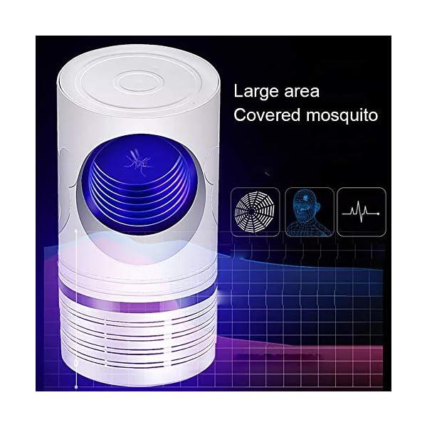 Bcamelys Lampada Antizanzare, Zanzariera Elettrica 5w Anti Zanzare USB con Luce UV Lampada Antizanzare Elettrico… 3 spesavip