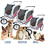 Polironeshop Argo - Remolque y carrito de bicicleta para el transporte de perros