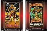 Sorority Babes in the Slimeball Bowl-O-Rama & Slavegirls from Beyond Infinity 2-DVD Cult Movie Bundle