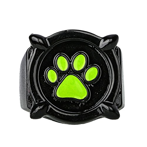 Noir Ring Black (Cat Noir Ring Cosplay Costume Accessories for Halloween Gifts Zinc Alloy)