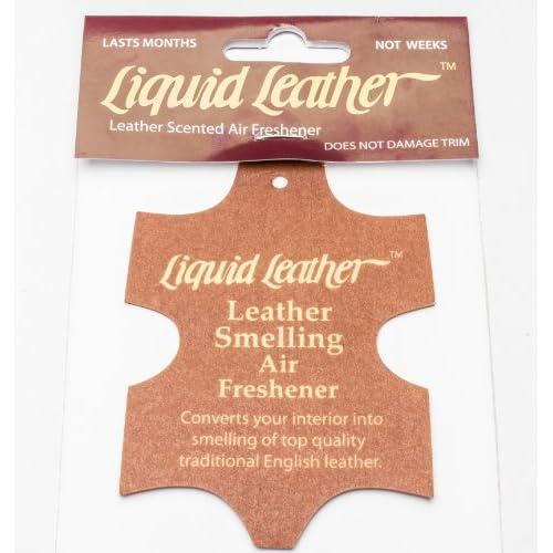 Gliptone assainisseurs d'air (Lot de 3Désodorisants) cuir Anglais véritable, Désodorisant pour voiture Parfum 80%OFF