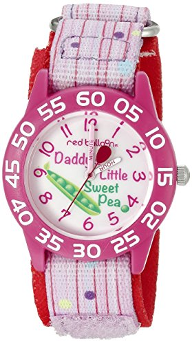 Red Balloon Kids' W002306 Red Balloon Analog Display Analog Quartz Pink Watch
