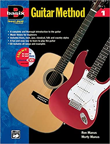 basix guitar method bk 1 book enhanced cd basixr series