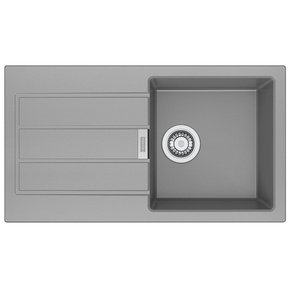 Franke 114.0496.091 Granite Kitchen Sink with a Single Bowl, Grey