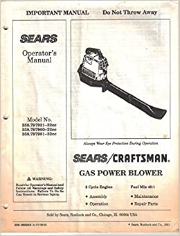 Craftsman gas leaf blower craftsman gas leaf blower blower sears.