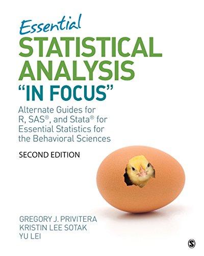 Essential Statistical Analysis
