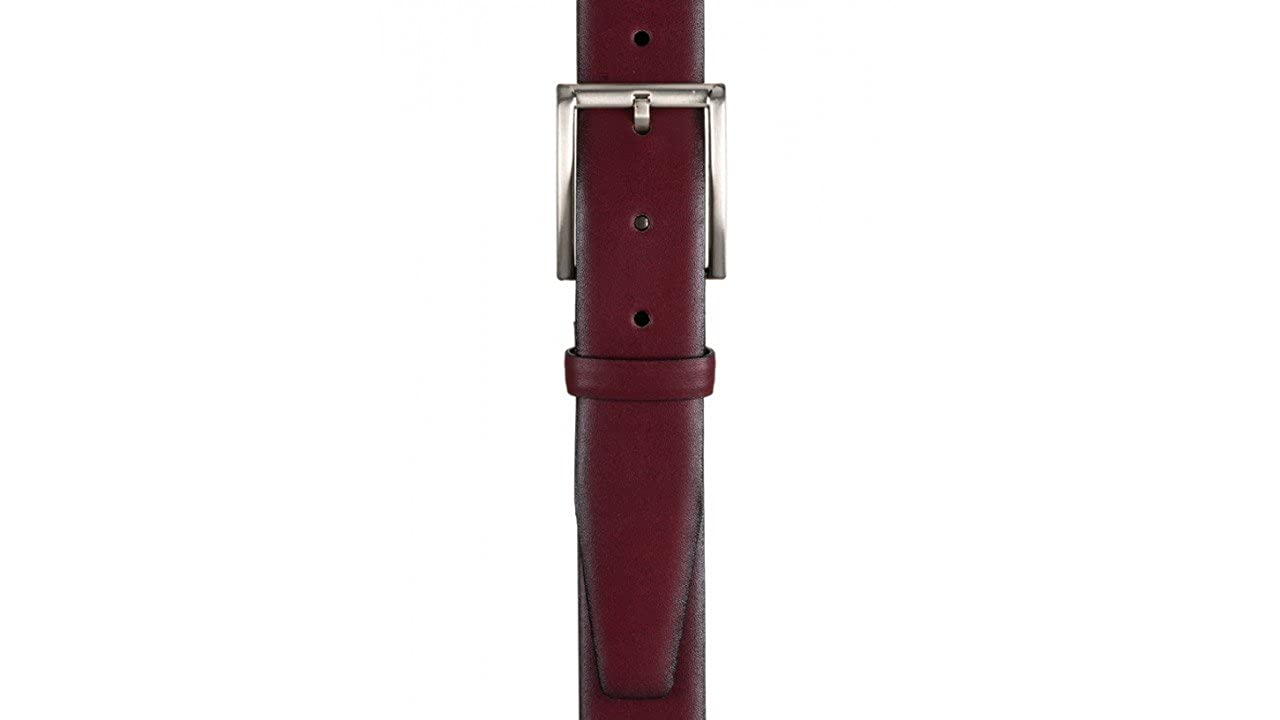 758bfb12f4ae Monti Mens Artikel Classic Leather Belt - Red  Amazon.co.uk  Clothing