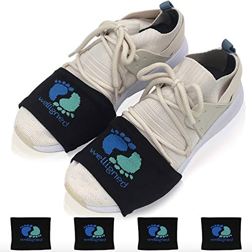 Welligned Dance Socks Over Sneakers for Smooth Floors - Fitness & Line Dance Shoe Covers with Amazing Stretch - Pivot & Glide with Ease - 4 Pairs for Women & Men One Size Fits All from Welligned