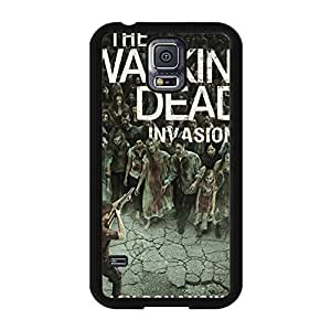 Hardshell Case for Samsung Galaxy S5 I9600,Creative Design The Wolking Dead-zombie blood dead American TV series Customized Samsung Galaxy S5 I9600 Phone Case