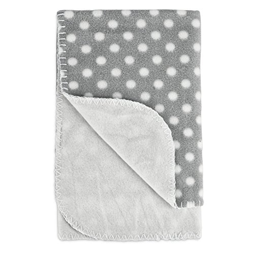 Harmony Cozy Sherpa Pet Throw in Polka Dot, 24