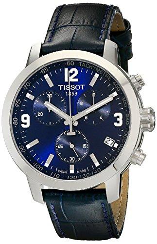(Tissot Men's TIST0554171604700 200 Analog Display Swiss Quartz Blue Watch)