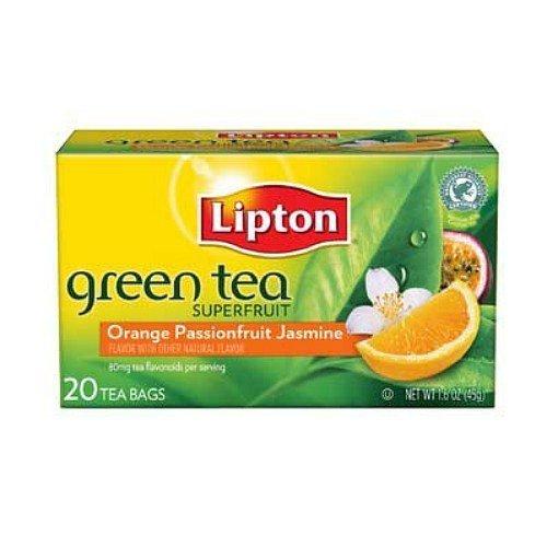 Lipton Green Tea, Orange, Passion Fruit & Jasmine-20 bags