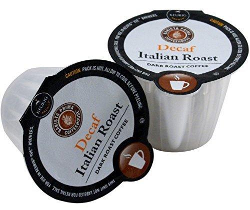 Barista Prima Italian Roast Decaf Coffee Keurig Vue Portion Pack, 72 Count by Barista Prima