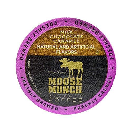 Milk Chocolate Caramel Cups - Moose Munch Coffee by Harry & David, Milk Chocolate Caramel, 100 Single Serve Cups