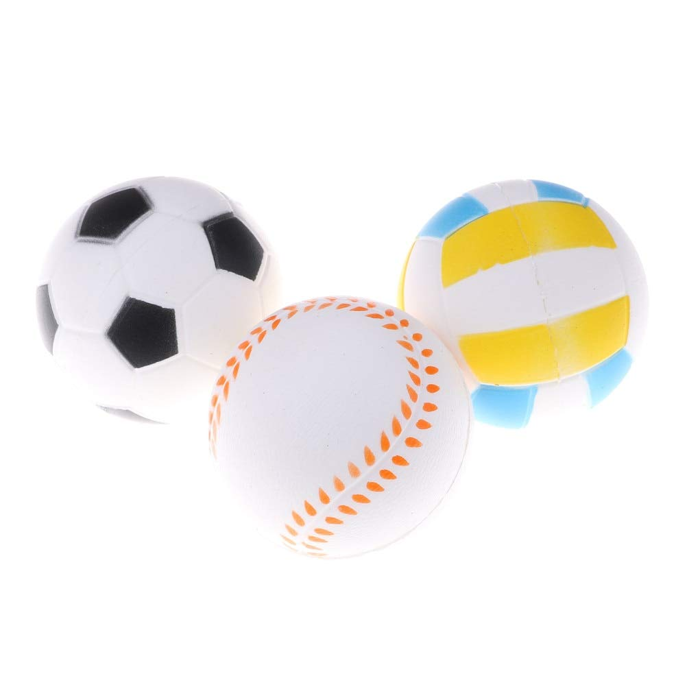 Mobile Phone Straps Mobile Phone Accessories 1pcs Anti Stress Ball Squishy Slow Rising Football9.5cm Pu Sponge Kids Funny Gadgets Surprise Bouncy Antistress Toy Phone Strap
